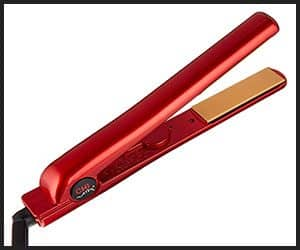 CHI Fire Red Flat Iron