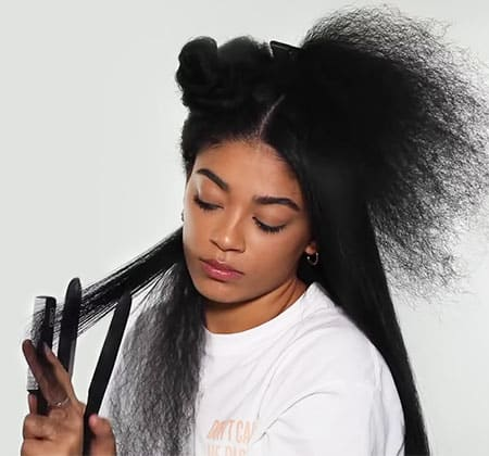 Featured Image of Best Flat Irons for Curly Hair
