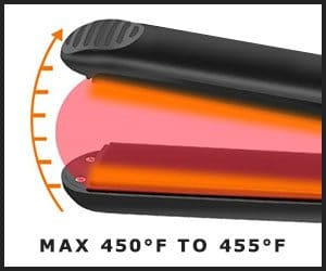 Hair Straightener Heating Details