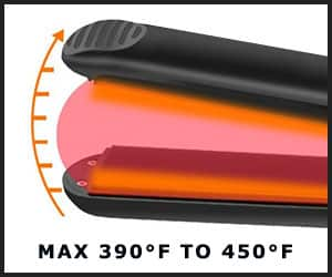 Temperature Settings of Flat Iron for Natural Hair