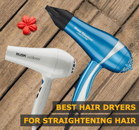Featured Image of Best Hair Dryers for Straightening Hair