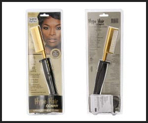 Conair Hype Hair Ultra-hot Hot Comb