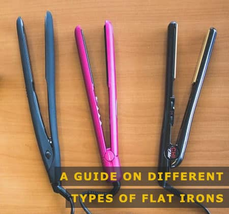Featured Image of a Guide on Different Types of Flat Irons