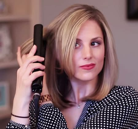 Featured Image of How to Add Volume to Your Hair With a Flat Iron