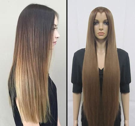 Featured Image of How to Straighten Human and Synthetic Wig Hair
