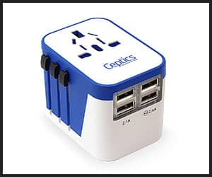 Ceptics Travel Adapter