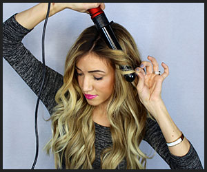 Creating Beach Waves With Curling Wand
