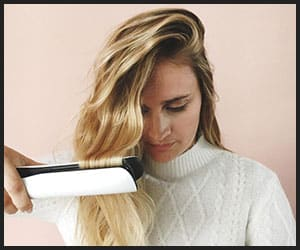 Creating Beach Waves With Flat Iron