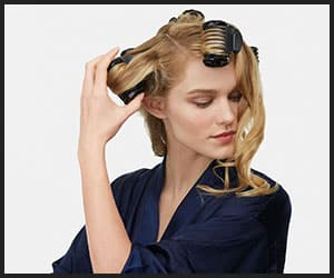 Creating Beach Waves With Hot Rollers