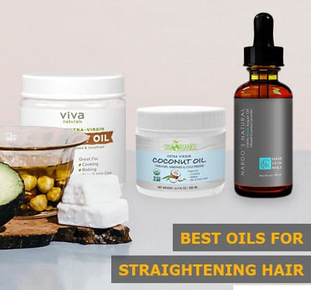 Featured Image of Best Oils for Straightening Hair