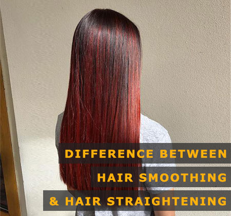 Featured Image of Difference Between Hair Smoothing and Hair Straightening