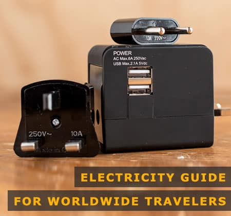 Featured Image of Electricity Guide for Worldwide Travelers