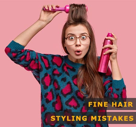 Featured Image of Fine Hair Styling Mistakes