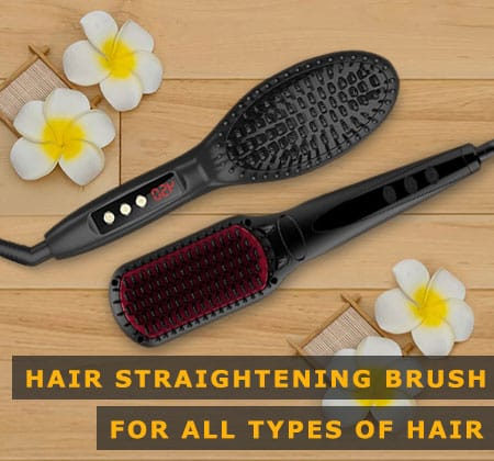 Featured Image of Hair Straightening Brush for All Types of Hair