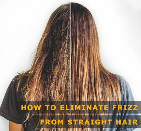 Featured Image of How to Eliminate Frizz From Straight Hair