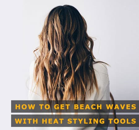 Featured Image of How to Get Beach Waves With Heat Styling Tools