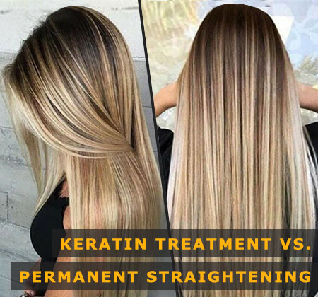 Featured Image of Keratin Treatment Vs. Permanent Straightening