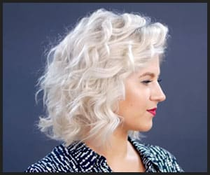 Tight Curls on Short Hair