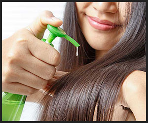 Using Hair Serum