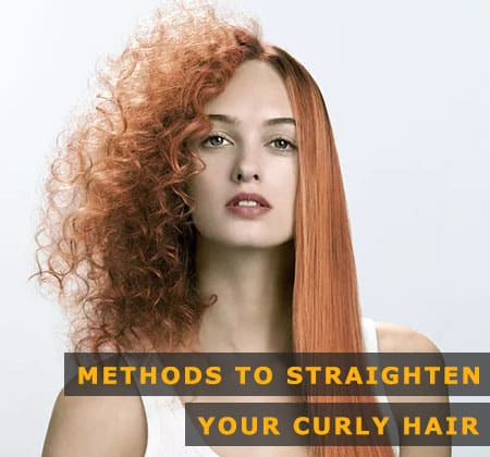 Featured Image of Methods to Straighten Your Curly Hair