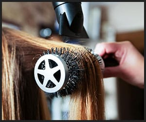 Straightening Hair With Blow-dryer