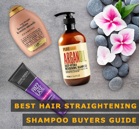 Featured Image of Best Hair Straightening Shampoo Buyers Guide