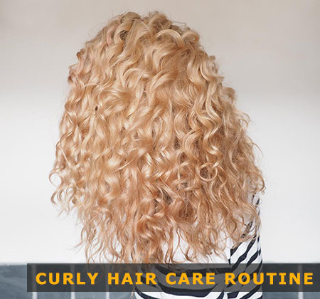 Featured Image of Curly Hair Care Routine