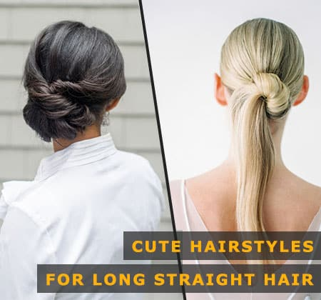 Featured Image of Cute Hairstyles for Long Straight Hair