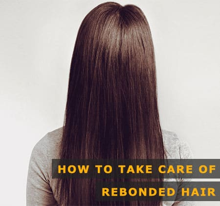 Featured Image of How to Take Care of Rebonded Hair