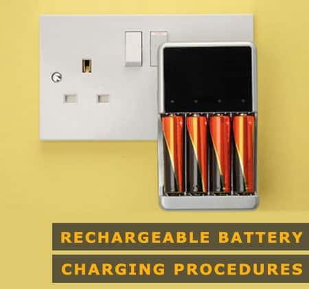 Featured Image of Rechargeable Battery Charging Procedures