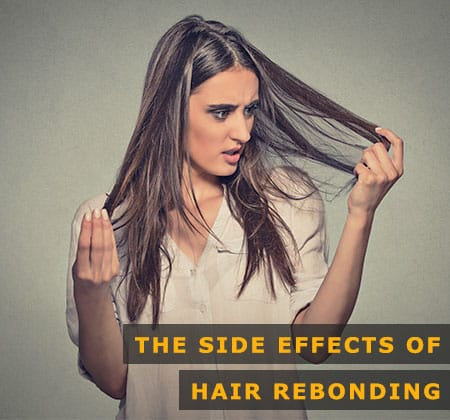 Featured Image of the Side Effects of Hair Rebonding