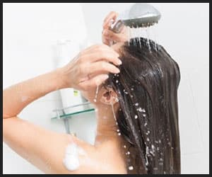 Cleaning Hair