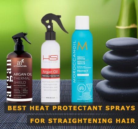 Featured Image of Best Heat Protectant Sprays for Straightening Hair