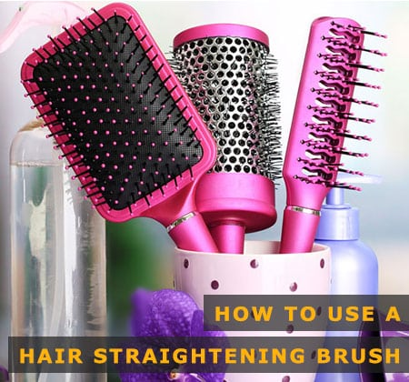 Featured Image of How to Use a Hair Straightening Brush