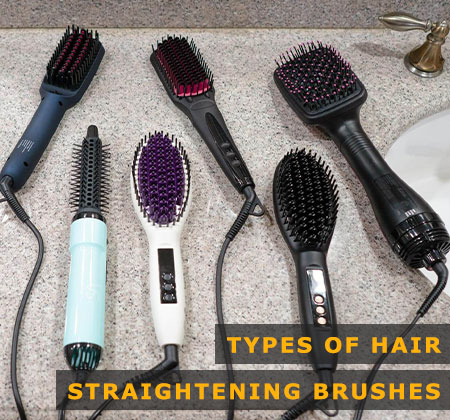 Featured Image of Types of Hair Straightening Brushes