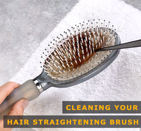 Featured Image of Cleaning Your Hair Straightening Brush