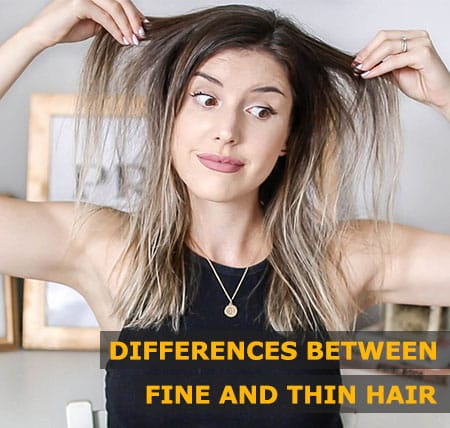 Featured Image of Differences Between Fine and Thin Hair