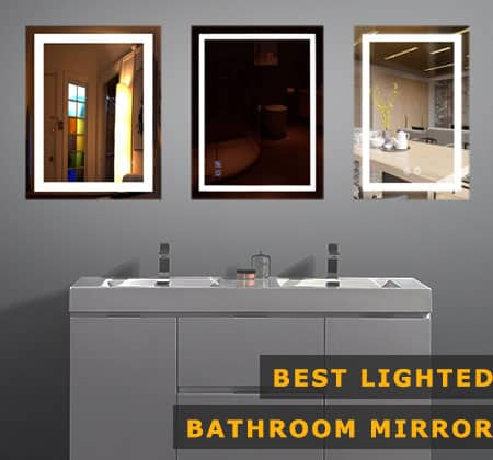 The 4 Best Lighted Bathroom Mirrors Of 2021 Instraight