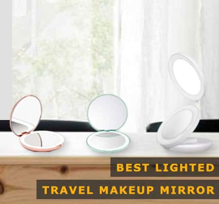 Featured Image of Best Lighted Travel Makeup Mirror