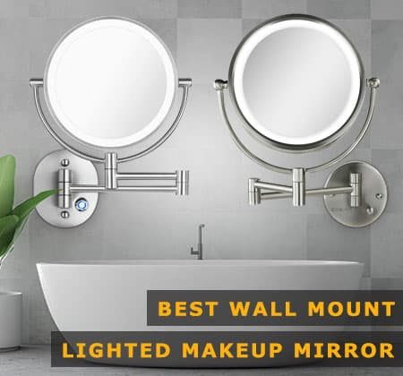 Featured Image of Best Wall Mounted Makeup Mirror