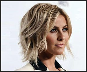Julianne Hough's Texturized Bob