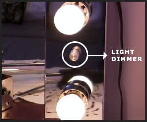 Light Dimmer of a Wall Mount Mirror - INS1003