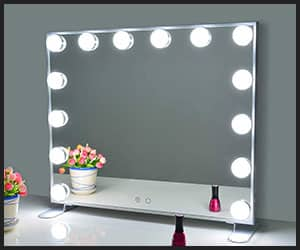 Nitin Lighted Hollywood Vanity Mirror - Big INS1006