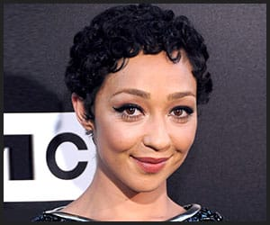 Ruth Negga's Short Natural Curls