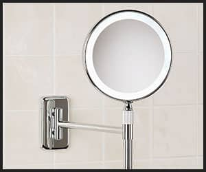 Wall Mount Lighted Makeup Mirror - INS1003