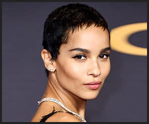 Zoë Kravitz's Choppy Pixie Cut