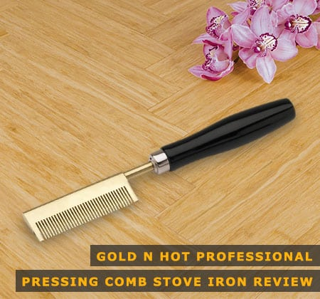 Feaatured Image of Gold N Hot Professional Pressing Comb Stove Iron