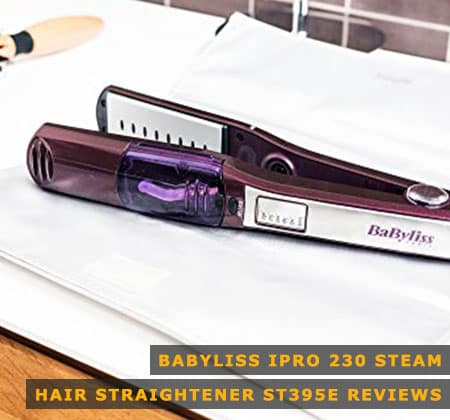 Featured Image of Babyliss Ipro 230 Steam Hair Straightener ST395E