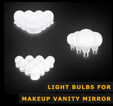 Light Bulbs For Makeup Vanity Mirror
