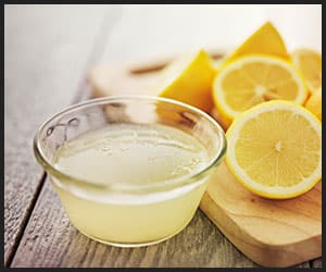 Lemon Juice for Cleaning Mirror